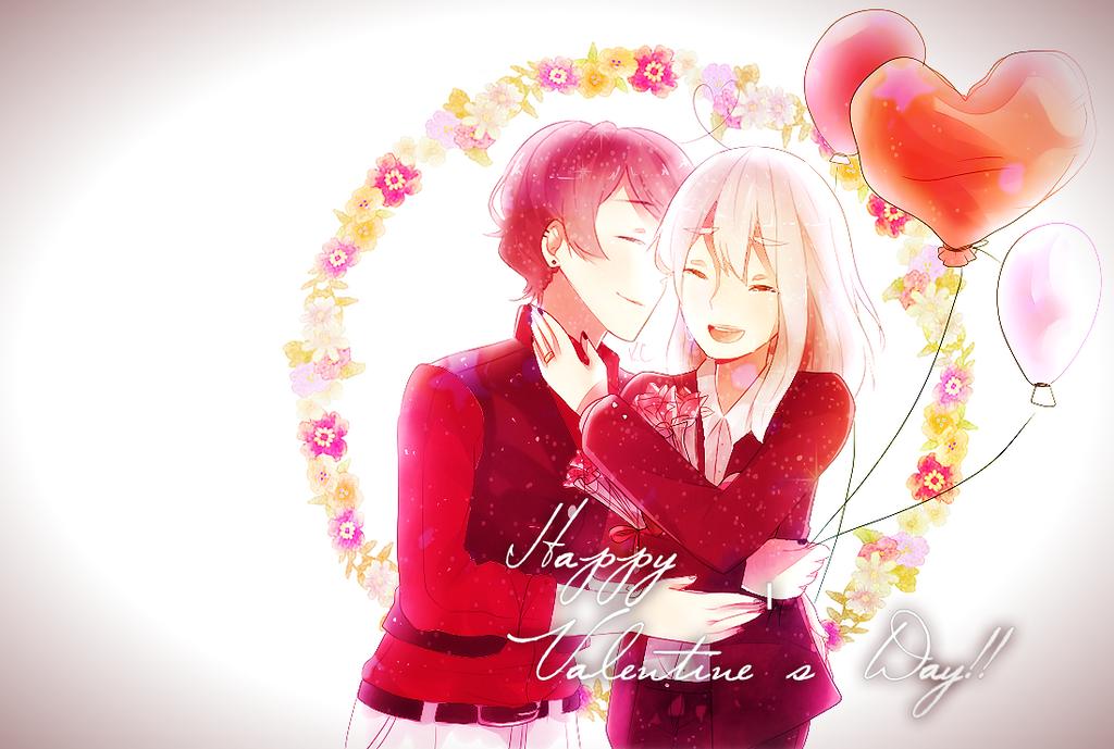 Happy Valentine's Day by Kuntser