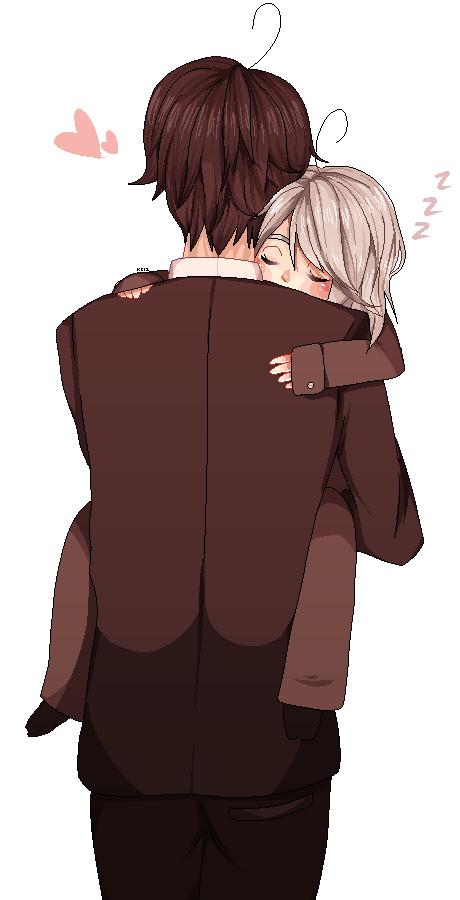 AHHH HE FELL ASLEEP by kakuzu-chan12
