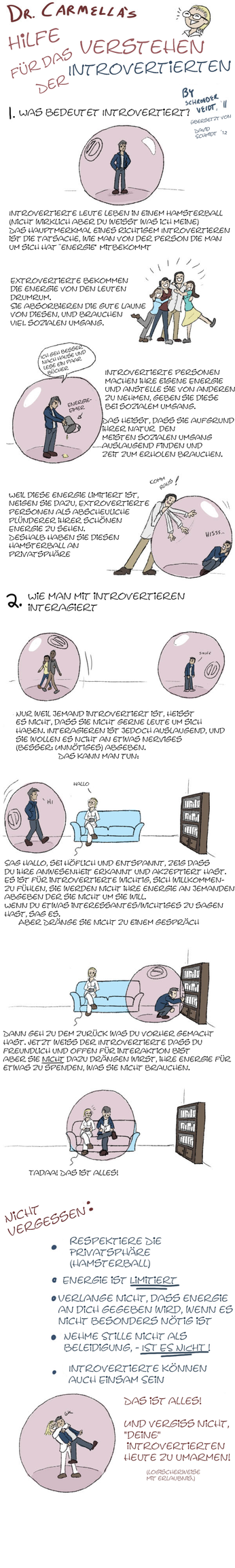 Wie man mit Introvertierten umgeht by At-MsUpload