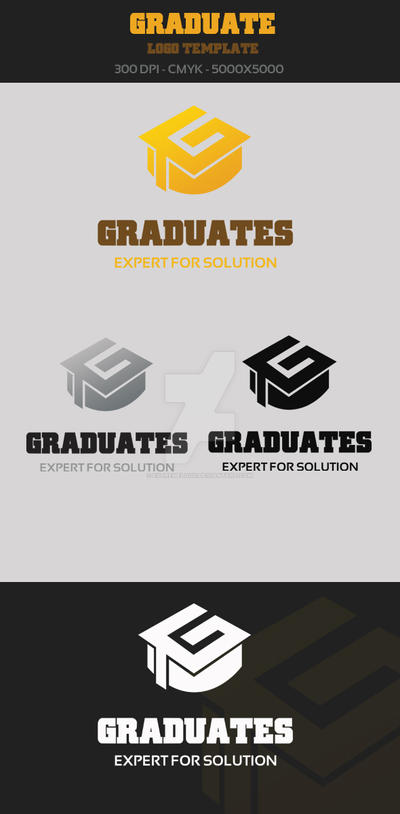 Graduate Logo Template by ExtremeLogo