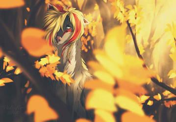 Fiery Fall by Volinfer