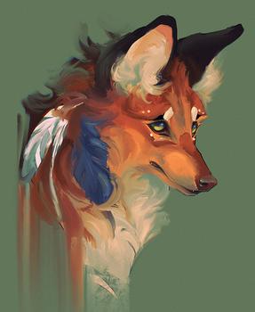 Not a wolf, not a fox