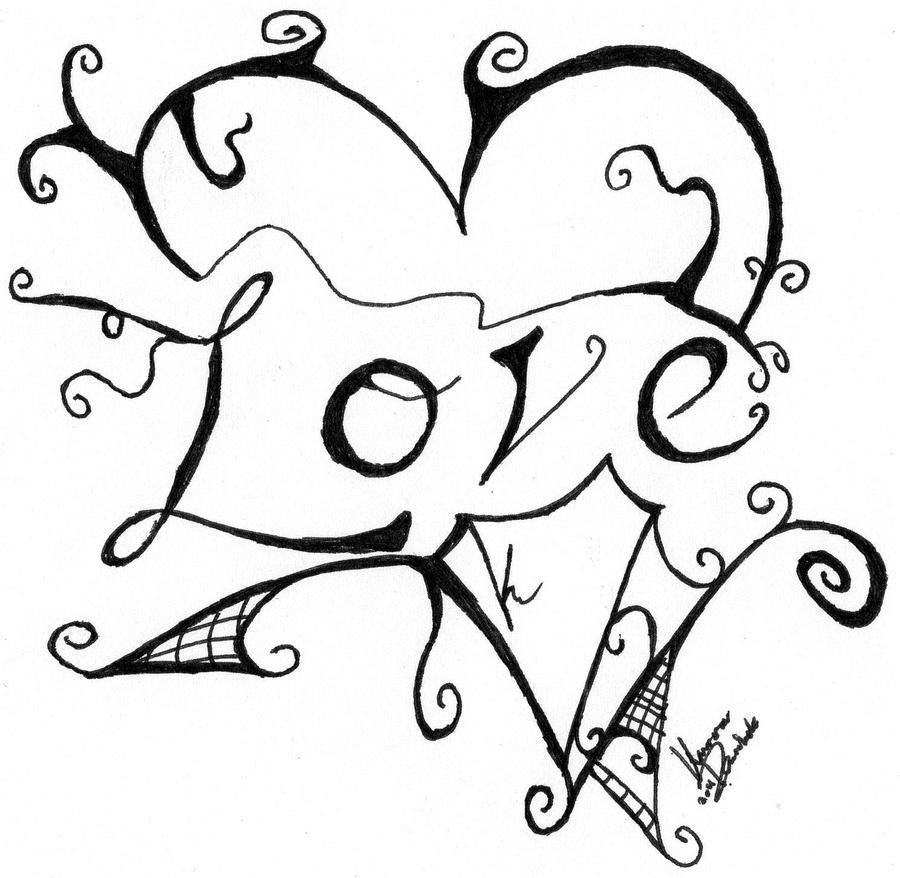 Love Heart Design By Noremak101