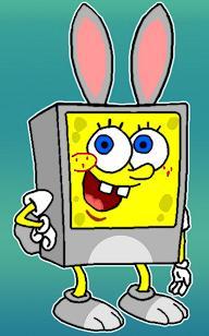 Spongebob Bunnypants by deviantretard