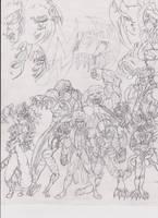 Capcom's NightWarriors by triplestar100