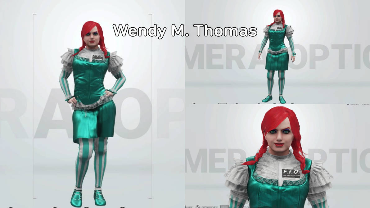 T.A.W. Roster= Wendy Thomas by triplestar100