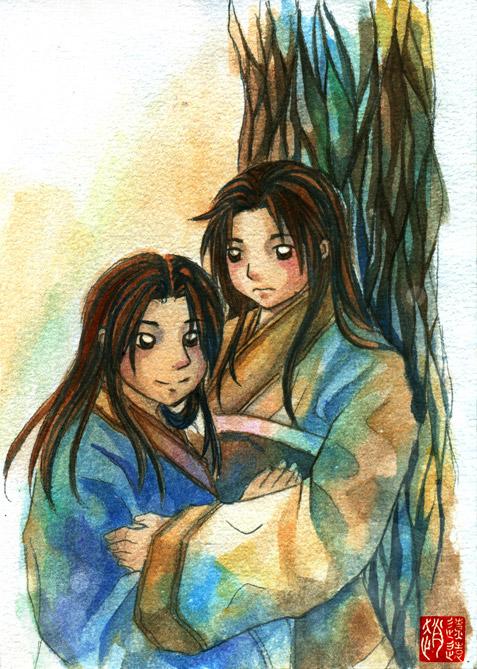 Siblings by zhaoliaoyuan