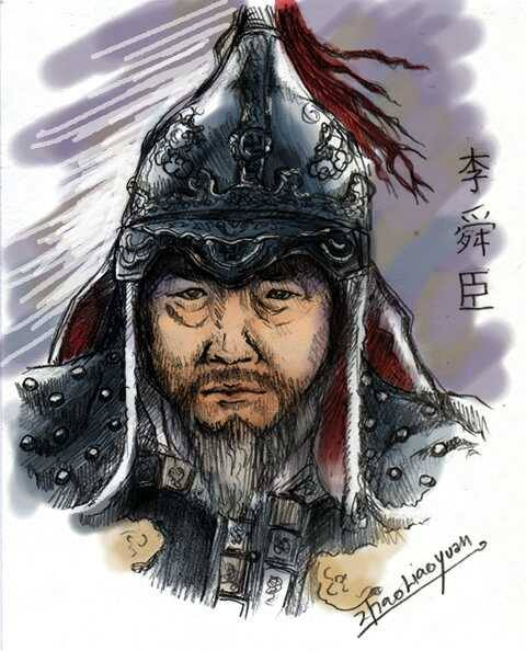 Admiral Yi Sun-sin (color version) by zhaoliaoyuan