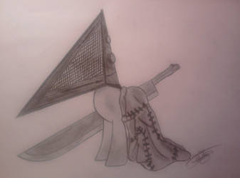 My Little Pony - Pyramid Head by Yumechan774