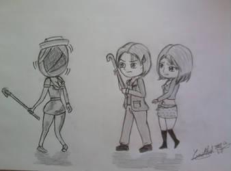 Silent Hill 2 Chibi by Yumechan774