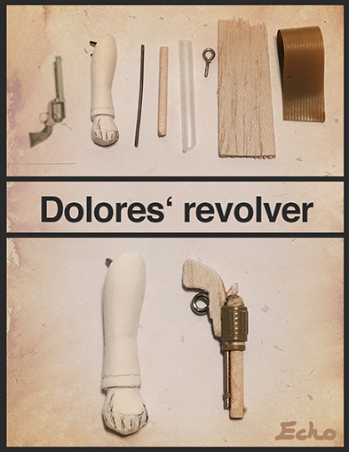 How to make mini size revolver by Puppyorb
