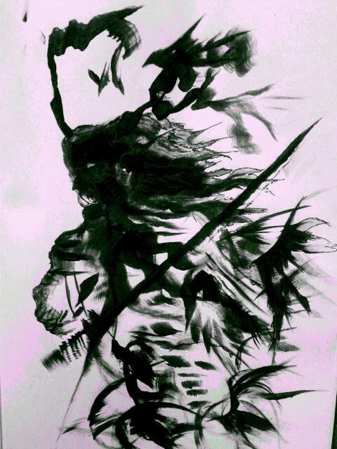 Shadow Demon Samurai By Kredwood On DeviantArt