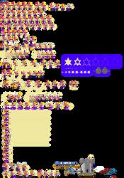 Spark Magical jester sprite sheet