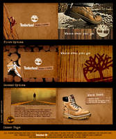 Timberland brochure concept by SherifShaaban