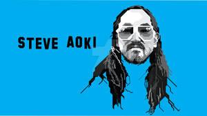 WPAP Steve Aoki Skintone