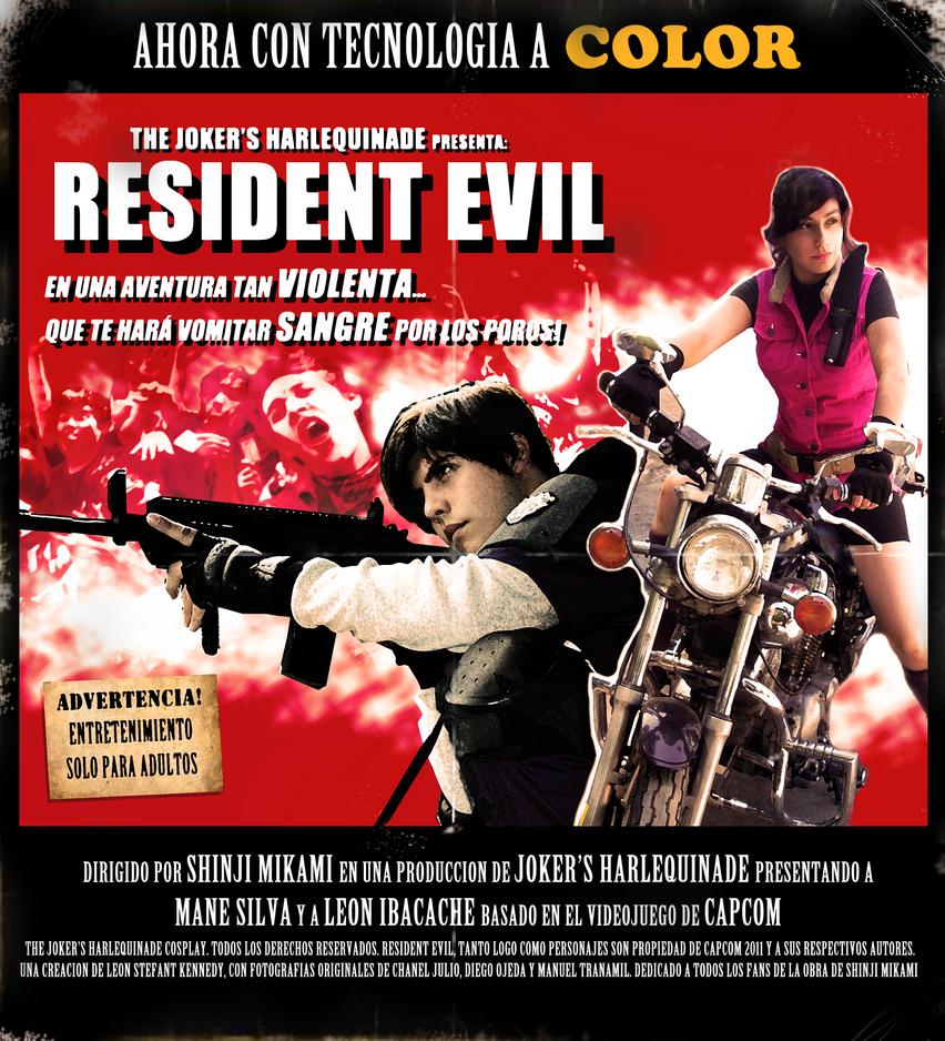 Resident Evil Cosplay OVERKILL by LeonStefantKennedy