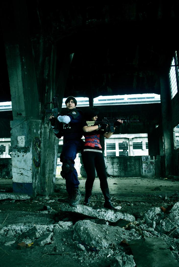Resident Evil 2 Cosplay by LeonStefantKennedy