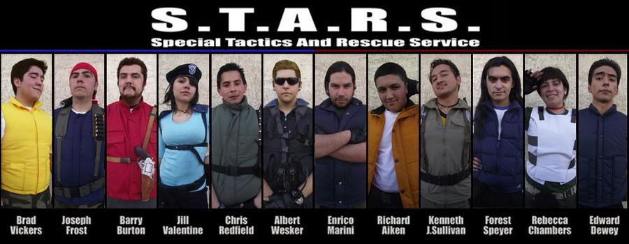 S.T.A.R.S. members by LeonStefantKennedy