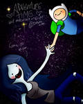 ADVENTURE TIME with Marceline n' Finn by LeonStefantKennedy