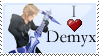 I heart Demyx by GemmilyArt