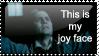 Sweeney Todd joy face
