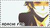 Tohru Adachi Stamp by GemmilyArt