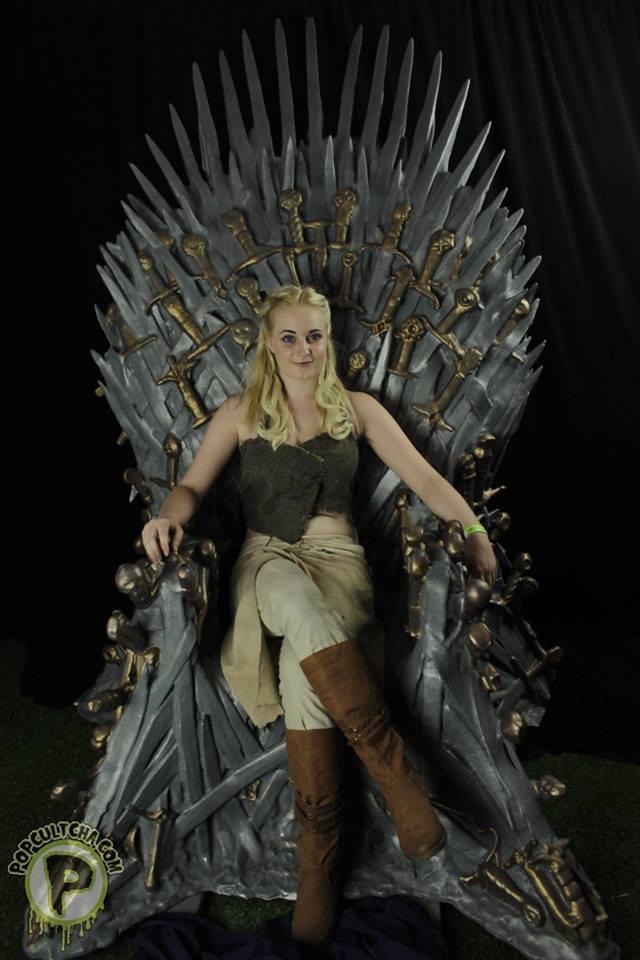 Iron throne by gemmilyart on deviantart for Iron throne painting