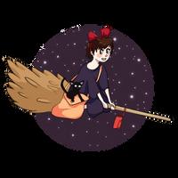 Kiki's Delivery Service by GemmilyArt