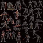 Vicky + Troll free poses