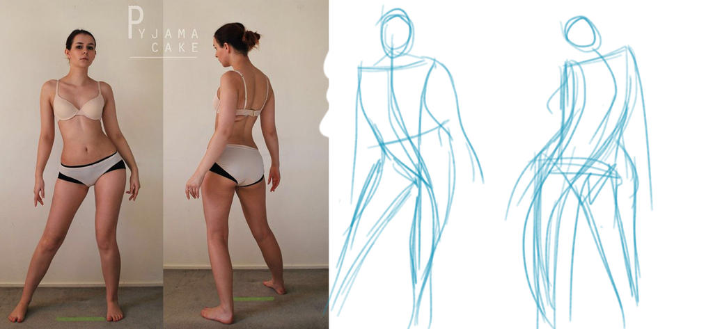 Character Design: Gesture Drawing by systemxxx