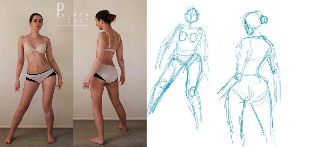 Character Design: BUILDING THE FIGURE by systemxxx