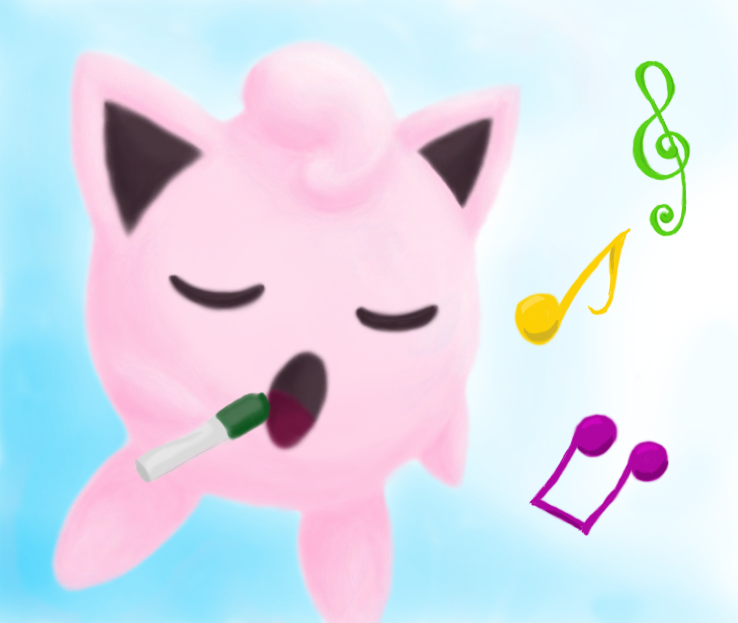 Singing Jigglypuff by Calefacto