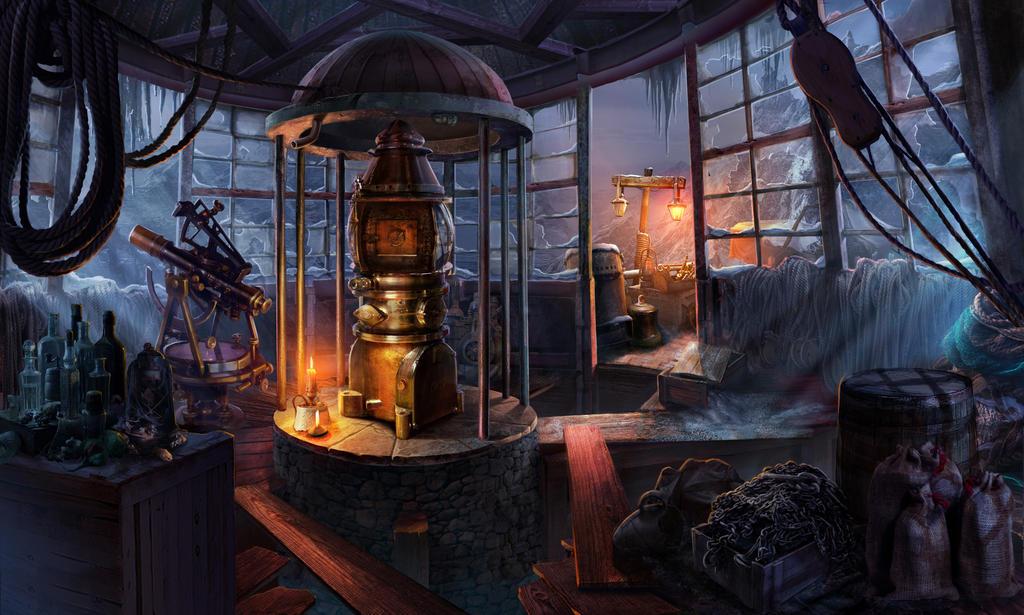 Lighthouse, second floor by NikitaBolyakov