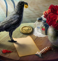 crow by NikitaBolyakov