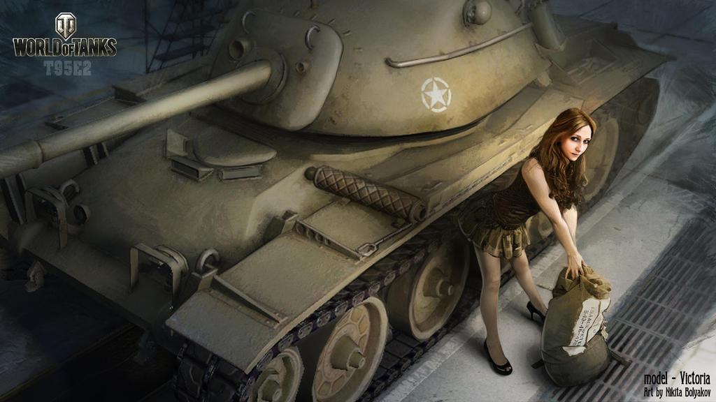 Видео секс в танке