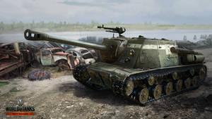 ISU-122C by NikitaBolyakov