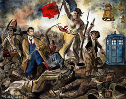 Liberty Leading the Doctor by crossstreet