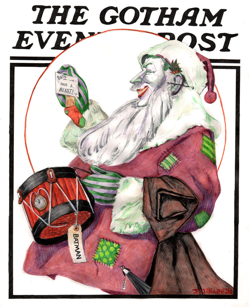 Gotham Evening Post Christmas Cover by crossstreet on DeviantArt