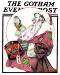Gotham Evening Post Christmas Cover