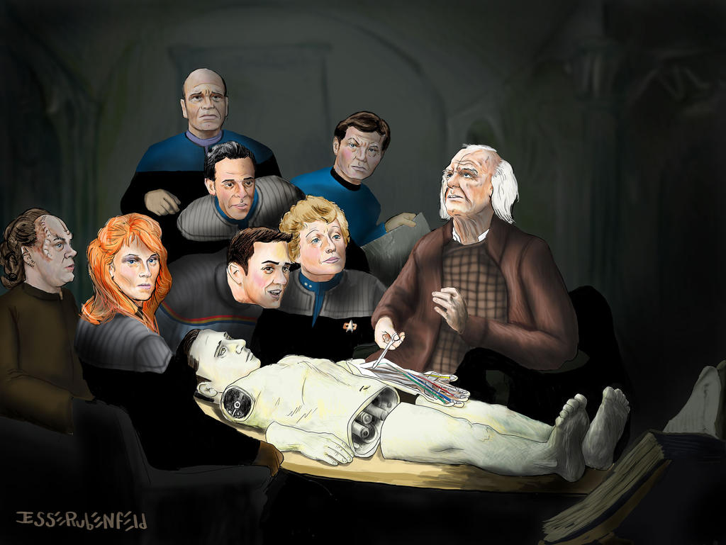 The Anatomy Lesson of Dr. Noonien Soong by crossstreet on DeviantArt
