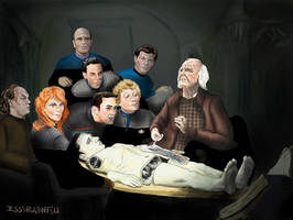 The Anatomy Lesson of Dr. Noonien Soong by crossstreet