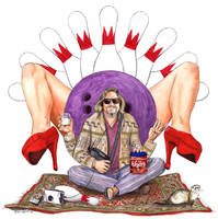 The Dude Abides by crossstreet