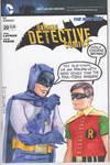 Batman 66 style sketchcover