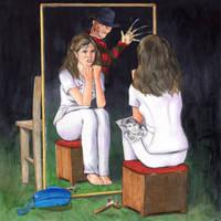 Nightmare in the Mirror by crossstreet