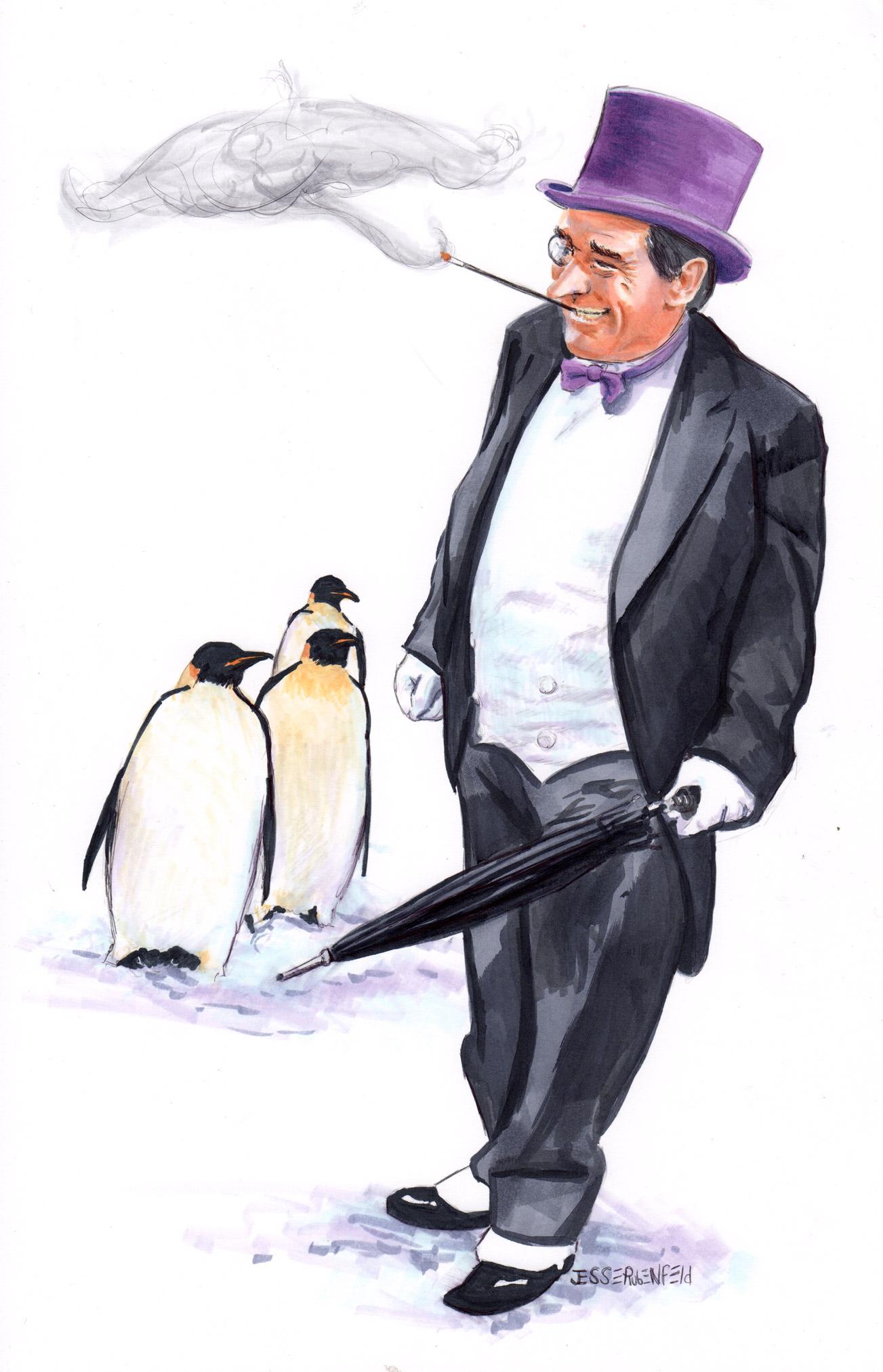 Penguin 66 by crossstreet