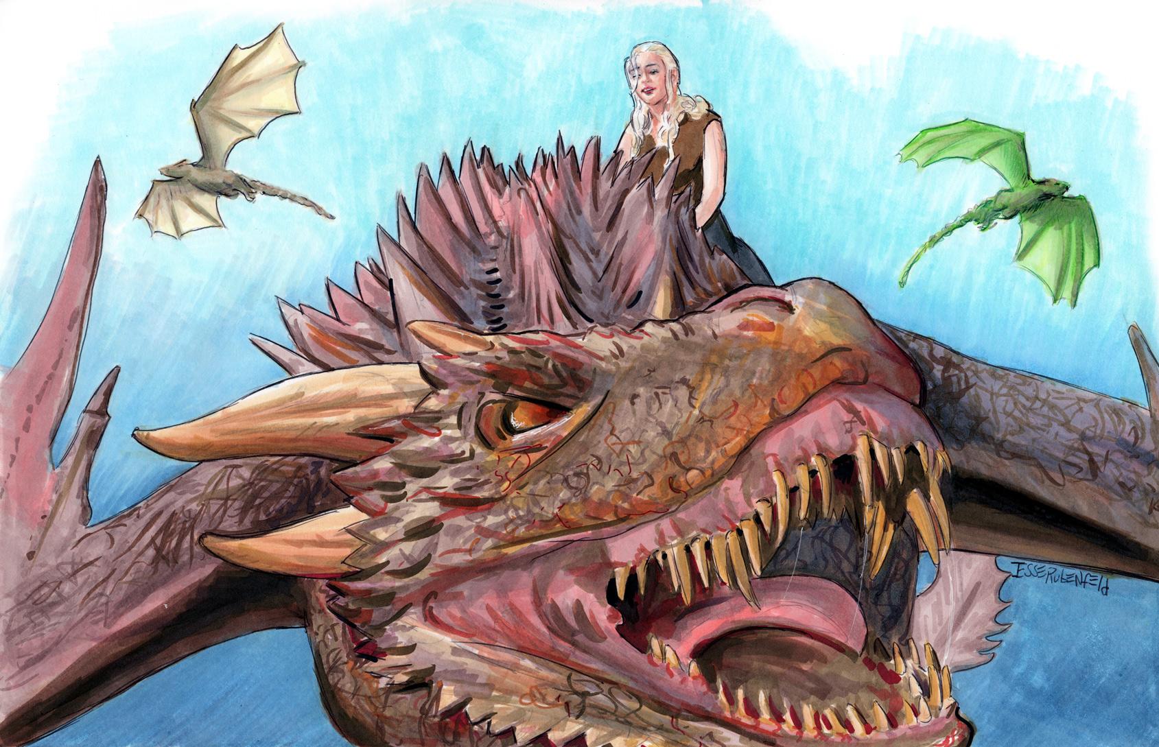 Daenerys Targaryen by crossstreet