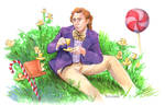 Willy Wonka by crossstreet