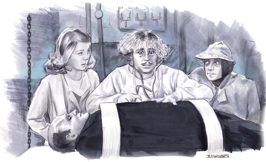 Young Frankenstein by crossstreet
