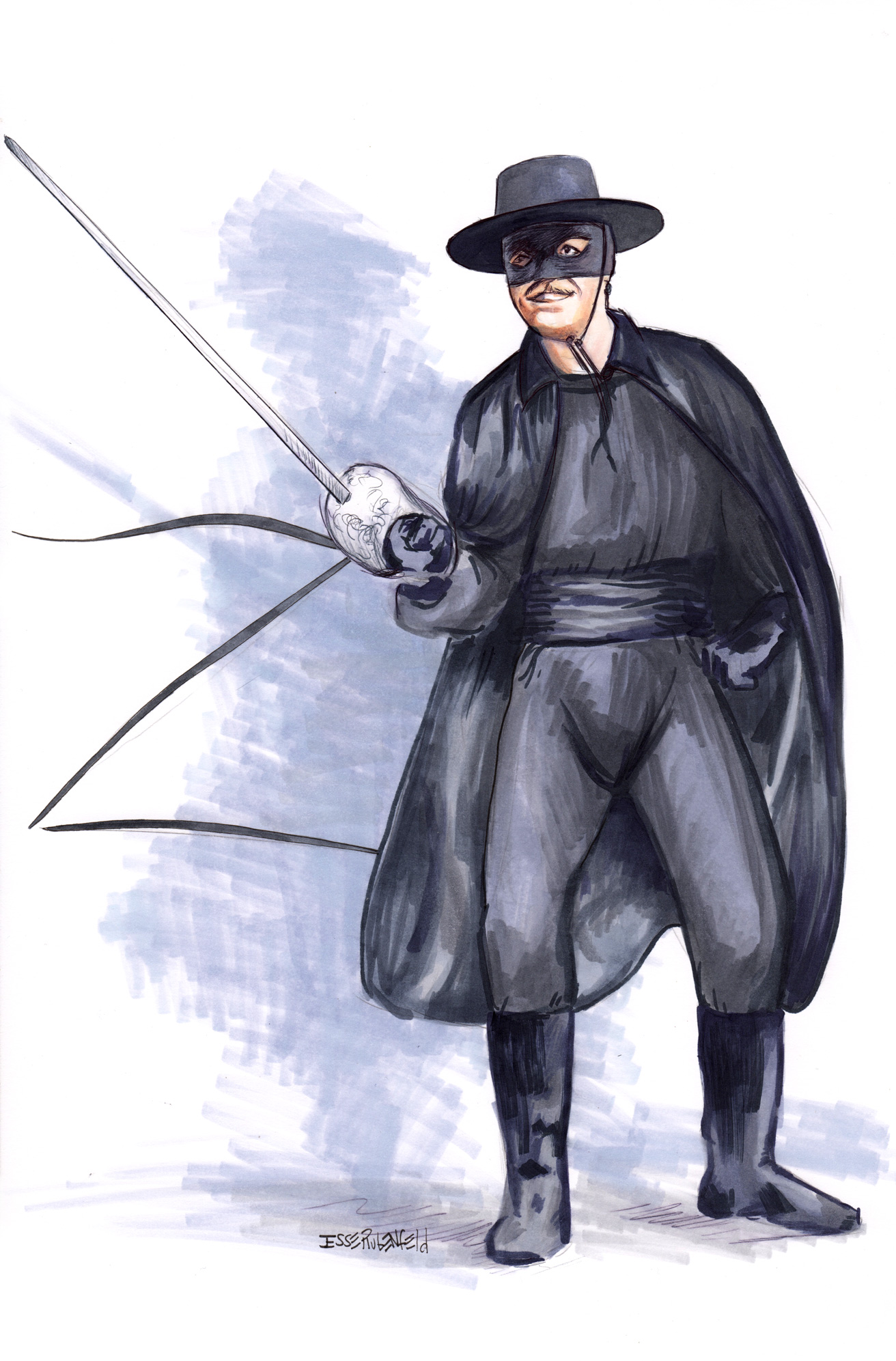 Zorro by crossstreet