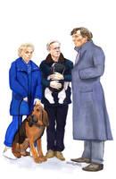 Sherlock and the Watsons by crossstreet